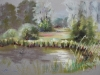 Plein air Pastel Fort Rammekens