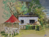 Plein-air-pastel-Pluktuin-Hof-Hazenberg-Aagtenkerke te koop