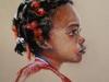 pastel-portrait-little-girl, maat 30 x 22 cm