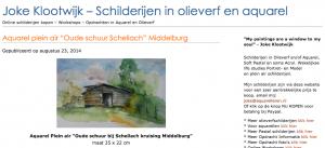 Weblog van Joke Klootwijk