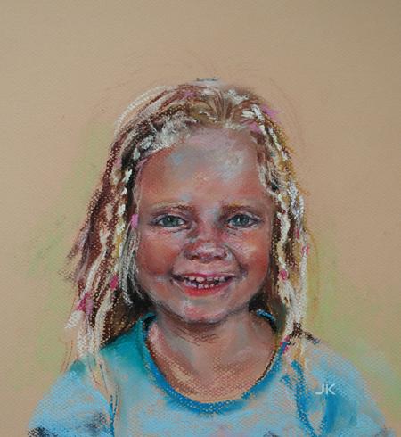 Portret in opdracht van Little Miss. C