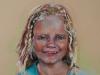 Pastel portret Claudia