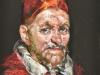 Pope-Innocent naar een olieverf van Velasquez.