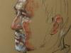 Pastel pleinair portret Tonio