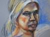 Portret van Model Wil