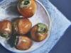 Pastel schaal persimmons maat 30x30 cm te koop