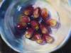 Softpastel-druiven-in-een-schaaltje