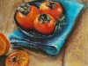 pastel persimmons