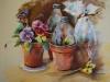 viooltjes-en-plantenpotten, maat 30 x 40 cm