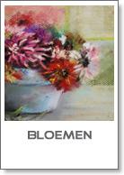 bloemen in pastel