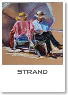 strand pastel schilderijen