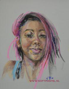 Pastel portretten ook in opdracht - Joke Klootwijk Middelburg