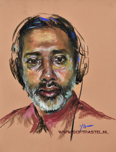 life skytv portrait of the week study of Nihal Artanayake DJ